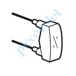 069499 Lampe 12 v 15 mA Verte pour équiper Appareillage Plexo Lumineux
