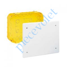 089374 Boîte d'encastrement Avec Couvercle pour Dérivation 170x170x50 mm pour Cloison Sèche