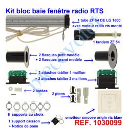1030099 Kit de Modernisation Somfy Bloc Baie Fenêtre Radio Rts