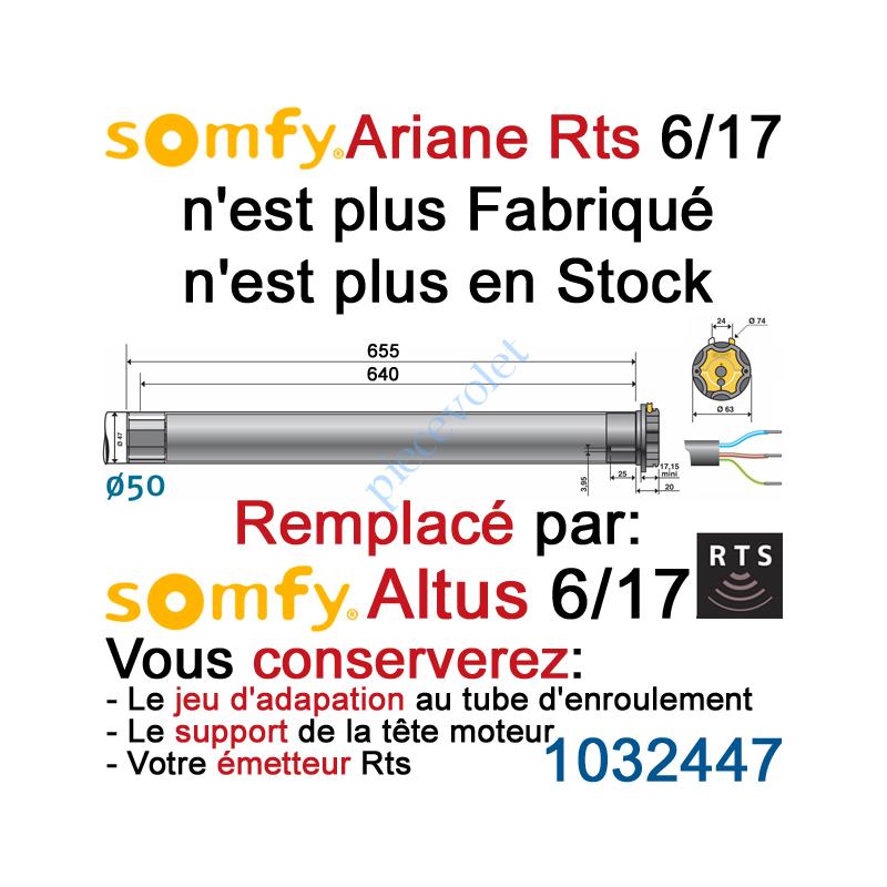 1032275 Moteur Ariane 6/17 Rts ou Rts2 LT 50 sans Mds (remplacé par Altus 1032447)