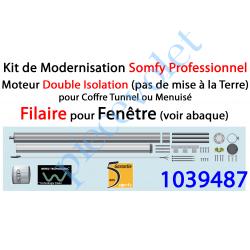 1039487 Kit de Modernisation Somfy Double Isolation Fenêtre Filaire