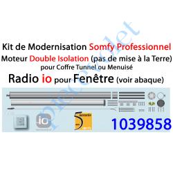 1039858 Kit de Modernisation Somfy Double Isolation Fenêtre Radio io