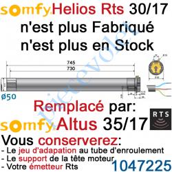 1045176 Moteur Helios 30/17 Rts ou Rts2 LT 50 sans Mds