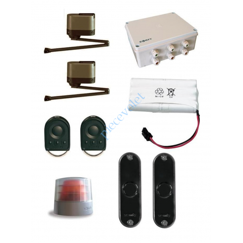 1216230 Axovia Multi Pro Pack Confort Rts (2 Mot 1Arm 4 Bras alu Moy, 2 ém 4cx,Giro,Cell)NvMd