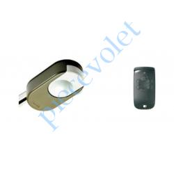 1216265 Dexxo Pro 800 io Tête Moteur 90 000 Cycles Force 80 Kg avec 1 émetteur Keytis io 4 Canaux à Retour d'information