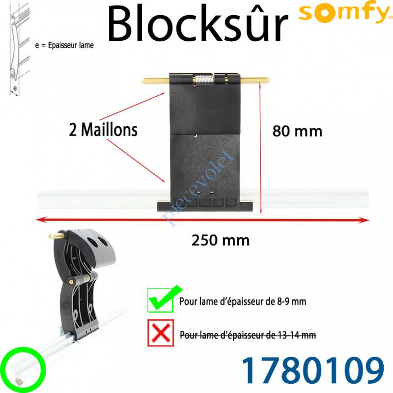 1780109 Verrou Automatique Blocksûr de 2 Maillons pour lame 8-9 mm
