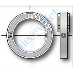 1780119 Bague de Verrou Automatique Blocksûr pour tube Deprat 62 mm