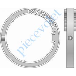1780120 Bague de Verrou Automatique Blocksûr pour tube Deprat 89 ø Ext 113 mm