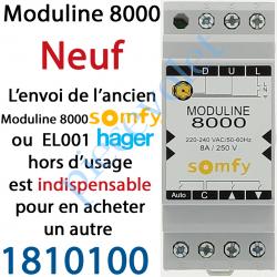 1810100 Module de Commande Groupée Moduline 8000 (620011) 2 Modules sur Rail
