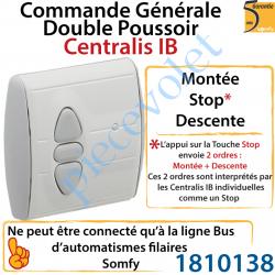 1810138 Commande Générale Centralis IB (Internal Bus) Fonction Double Poussoir