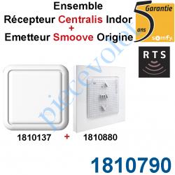 1810790 Ensemble Récepteur Centralis indoor et Emetteur Smoove Origin Rts (1810137+1810880)