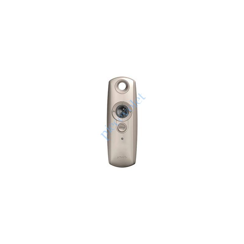 1810975 Emetteur Nomade Télis 1 Silver Rts Avec Molette pour Variation (1 canal Boîtier Antichoc)
