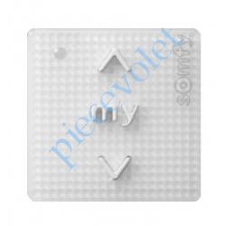 1811272 Commande Générale Smoove Uno IB+ Pure (Blanc) Sensitif Sans Cadre