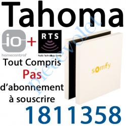 1811358 Boîtier Tahoma Somfy io et Rts Pack Liberté à Connecter à Internet