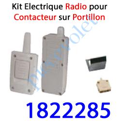 1822285 Contact Electrique Radio sur portillon de Porte Basculante ou Sectionnelle