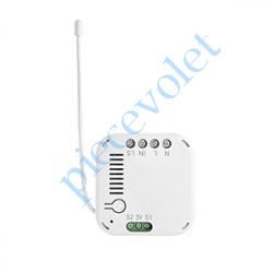 1822487 Micro Récepteur d'éclairage Marche - Arrêt Zwave Puissance Maxi entre 300 et 2 500 w ip20