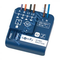 1822660 Micro Récepteur Somfy Izymo io pour Volet Roulant à intégrer derrière l'inverseur Filaire ip20