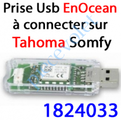 1824033 Module EnOcean à Connecter au port Usb du Boîtier Tahoma
