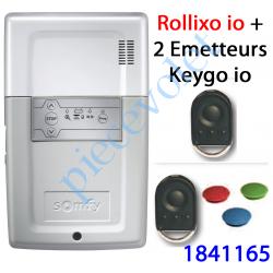 1841165 Récepteur Rollixo io Avec 2 Télécommandes Keygo io