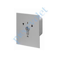 1850050 Inverseur à Clés Orion à Position Fixe à Encastrer 16 A Maxi sous 230 vca ip54