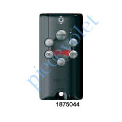 1875044 Télécommande Nomade Keytis Home io Alarme 5 Canaux à Retour d'Info Coloris Noir
