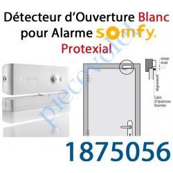 1875056 Détecteur d'Ouverture Nouveau Design Coloris Blanc pour Alarme Protexial
