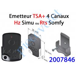 2007846 Emetteur  Nomade Tsa+ Hz 4 Canaux