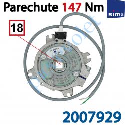 2007929 Parechute Sécurité Réarmable 147 Nm Entraîn Carré 18 mm Av Cont Sécu Câb Lg 1m Ss Viss