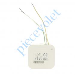 2008193 Micro Récepteur éclairage intérieur Hz ou Rts Puissance Maxi 500 w ip20