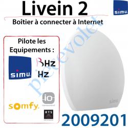 2009201 Boîtier Live in 2 Simu Hz BHz io et Rts à Connecter à Internet