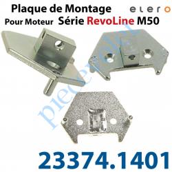 23374.1401 Plaque de Montage pour Moteur RevoLine M Avec Rectangle Court de 10x16 Lg 10,5mm