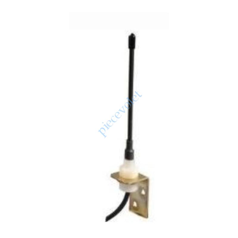 2400472 Antenne 433 MHz Rts ou Hz Câble CoAxial ø 5 mm Longueur ± 3 m