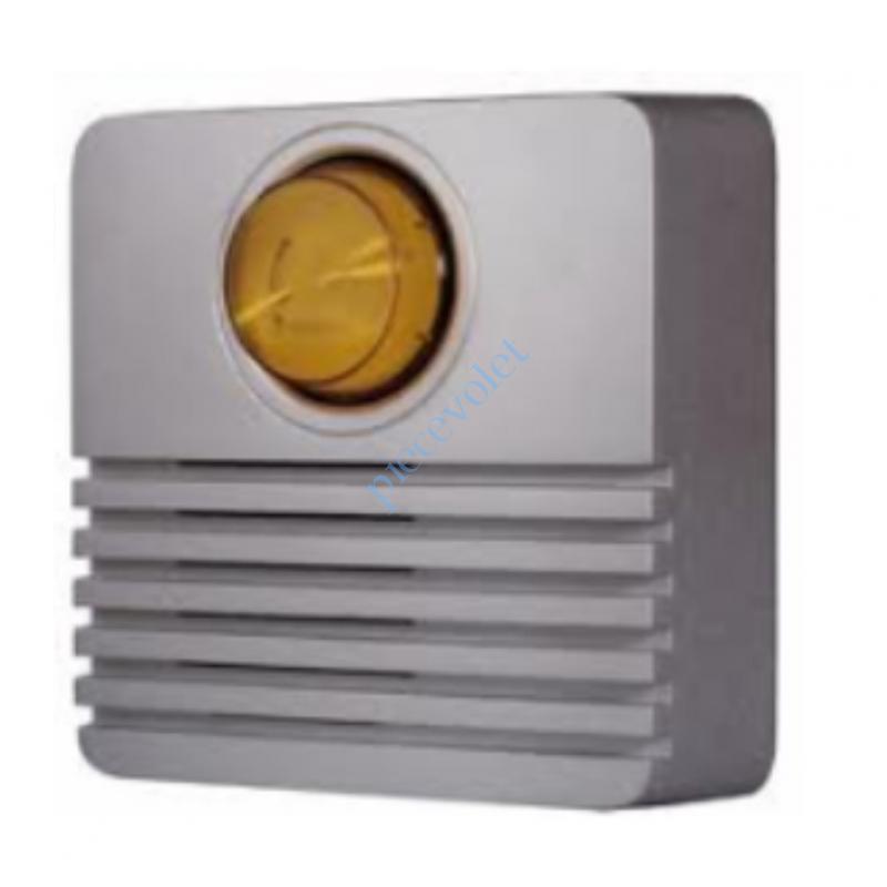 2400935 Sirène Extérieure 108 dB Avec Flash pour Alarme Protexial