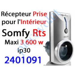 2401091 Récepteur Prise intérieure Rts ip 30 Puissance Maxi 3 600 w