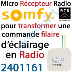 2401161 Micro Récepteur éclairage intérieur Rts Puissance Maxi 500 w
