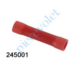 245001 Cosse Manchon Rouge Isolée