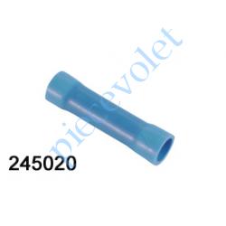 245020 Cosse Manchon Bleue Isolée