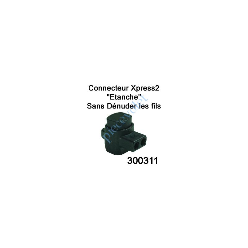 300311 Connecteur Xpress 2 Conducteurs Section 0,5à 2,5 mm² suiv Fil Intensité Maxi 30A