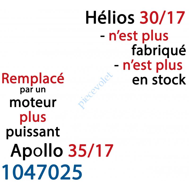410006 Moteur Hélios 30/17 LT 50 sans Mds