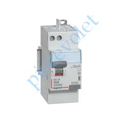 411632 Interrupteur Différentiel Bipolaire DX³-ID 40A 30mA