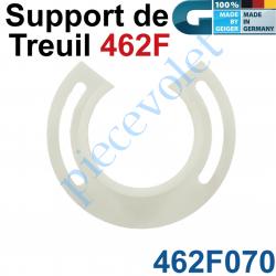 462F070 Support de Treuil type 462F Entre-axes de Fixation 75 mm en Plastique
