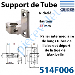 514F006 Support de Tube