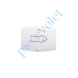 69355 Enjoliveur Blanc Lumière pour Mécanisme Volet Roulant Radio Arnould Initia