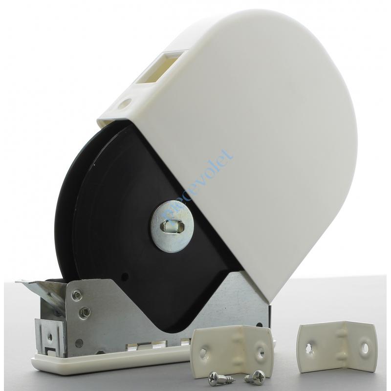 6A1.5618/2SC Enrouleur Pivotant de Cordon Blanc ø 4,3 mm pour Démultiplicateur Sans Cordon