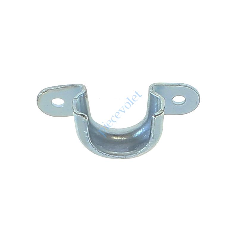 6C3.5706 Support Roulement ø 28 mm à 2 Oreilles en Acier Galva 2 Trous ø4,5 mm Entr'axes 42 mm