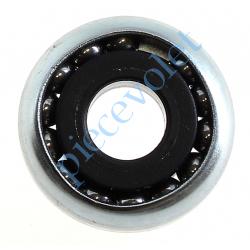 6C3.8110 Roulement à Billes Acier Noyau Nylon ø Int 10 mm - ø Ext 28 mm Déport 2 mm