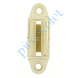 6D3.2503/20 Bloqueur à Clips Réglable en Profondeur de 28 à 48 mm pour To Coloris Blanc