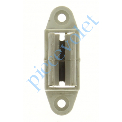 6D3.2503/30 Bloqueur à Clips Réglable en Profondeur de 28 à 48 mm pour To Coloris Gris