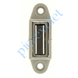 6D3.2504/30 Bloqueur Magnétique Réglable en Profondeur de 28 à 48 mm pour To Coloris Gris