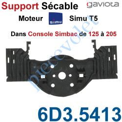 6D3.5413 Support Moteur Simu T5 Sécable dans Console Simbac de 125 à 205